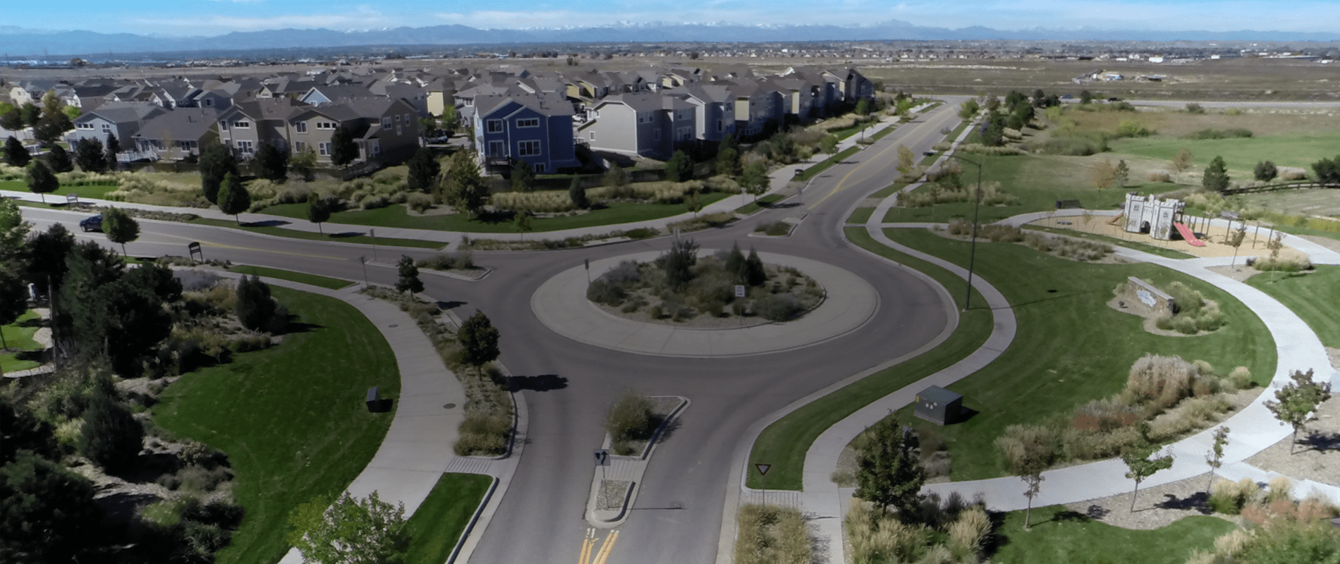 Roadway and Utility services by CVL Consultants Denver